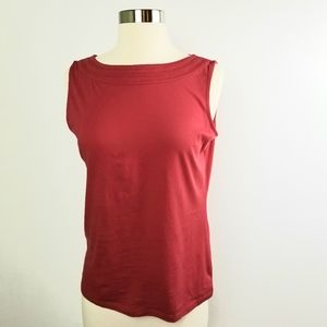 🌷Talbots red tank top  size small petite